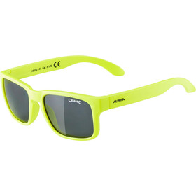 Alpina Mitzo Kids Brille Kinder neon yellow